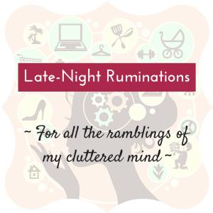 Ruminations 2
