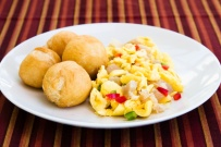 National Dish - Ackee and Saltfish