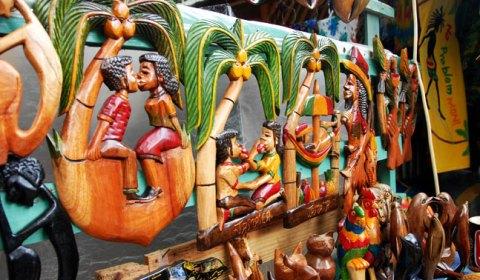 Art from craft vendors