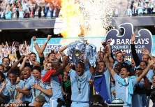 2011/12 Premier League Champions, Manchester City.