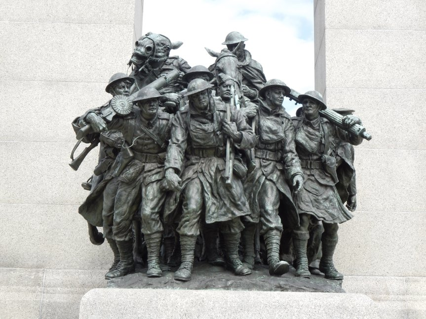 War Memorial closeup front