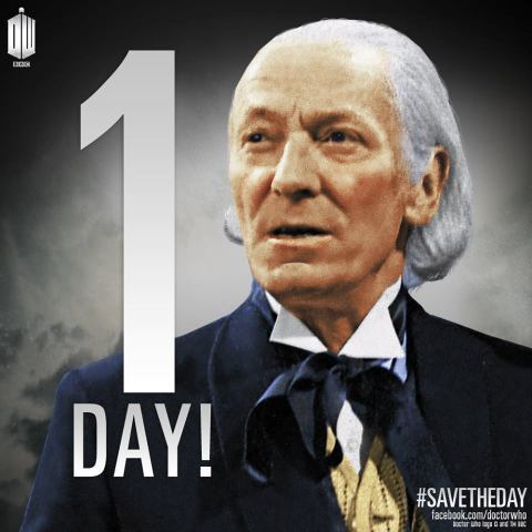 Doctor Who countdown 1 day