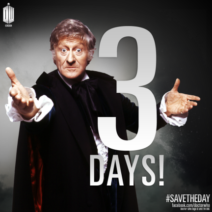 Doctor Who countdown 3 days