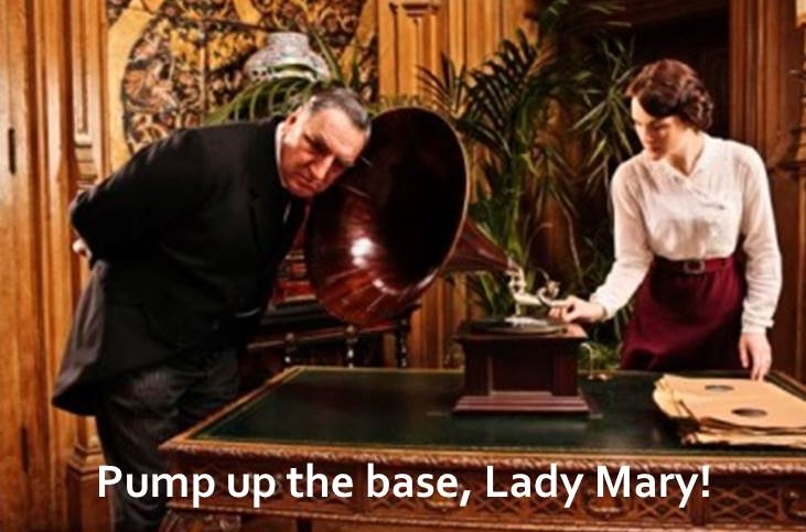 downton 2 mary bates and gramophone meme