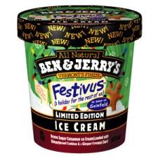 Festivus Ben and Jerry flavor