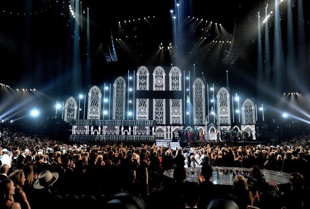 Grammys staples center