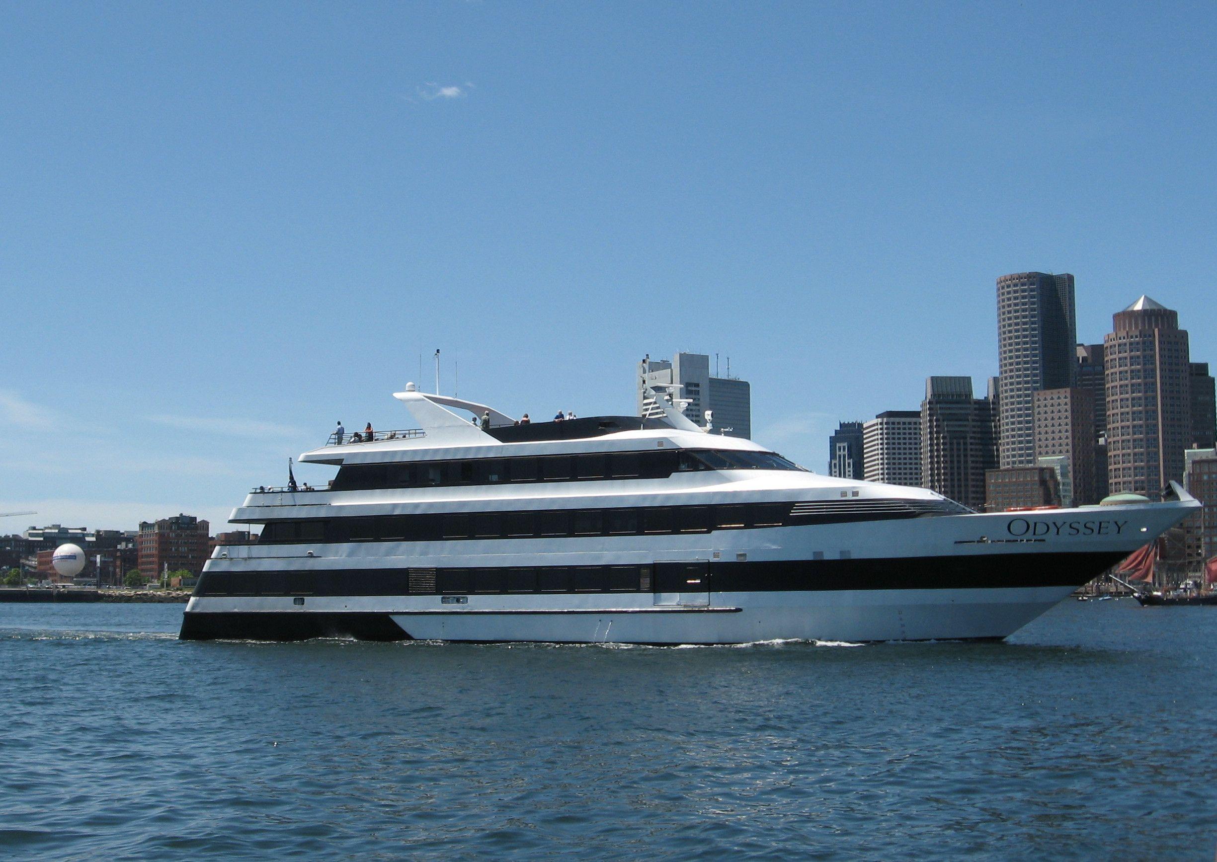 Odyssey Cruise Ship Boston Harbor LateNight Ruminations - Cruise ships out of boston
