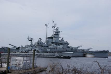 USS Massachusetts, WW II battleship