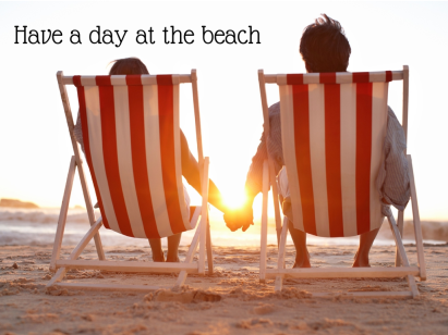 Have a day at the beach